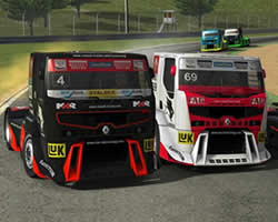 Thumbnail of Renault Truck Racing Puzzle