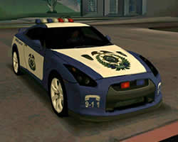 Thumbnail of Nissan Police Puzzle