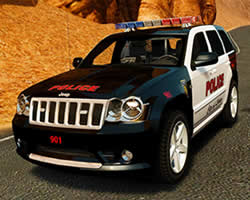 Thumbnail of Jeep Police Puzzle