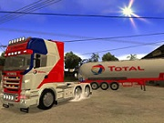 Thumbnail of Truck and Trailer Jigsaw