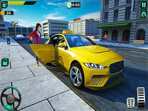 City Taxi Driving Simulator Game 2020 thumbnail