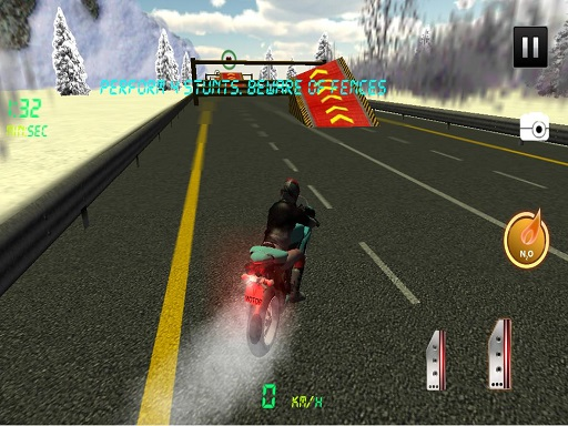 Thumbnail of Highway Speedy Bike Racer : Highway Stunt Bike Rider