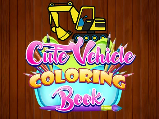 Thumbnail of Cute Vehicle Coloring Book