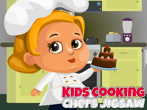 Thumbnail for Kids Cooking Chefs Jigsaw