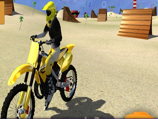 Thumbnail for motor cycle beach stunt