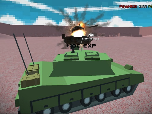 Thumbnail of Helicopter And Tank Battle Desert Storm Multiplayer