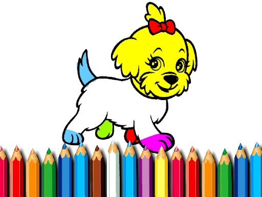 BTS Doggy Coloring Book thumbnail