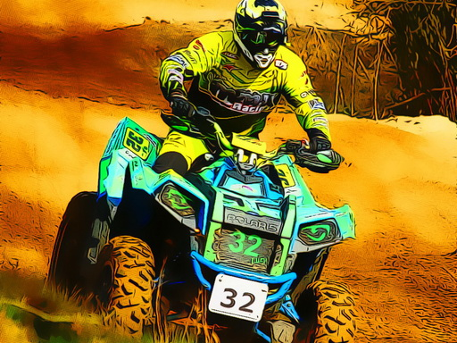 Extreme Quad Bike Jigsaw thumbnail