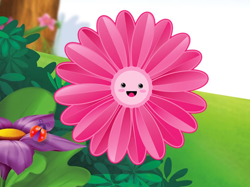Thumbnail of Funny Flowers Jigsaw