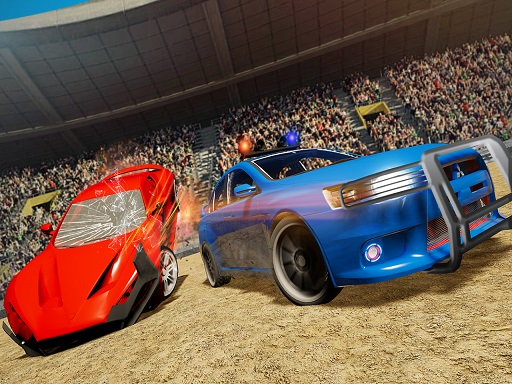 Thumbnail of Real Car Demolition Derby Racing Game