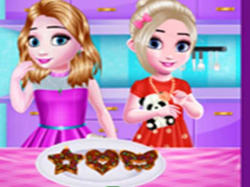 Thumbnail of Little girls kitchen Time