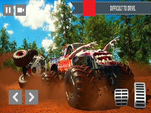 Monster Truck vs Zombie Death Shooting Game  thumbnail