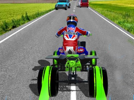 Thumbnail of ATV Quad Bike Traffic Racer