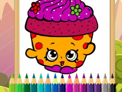 Thumbnail of Desserts Coloring Game