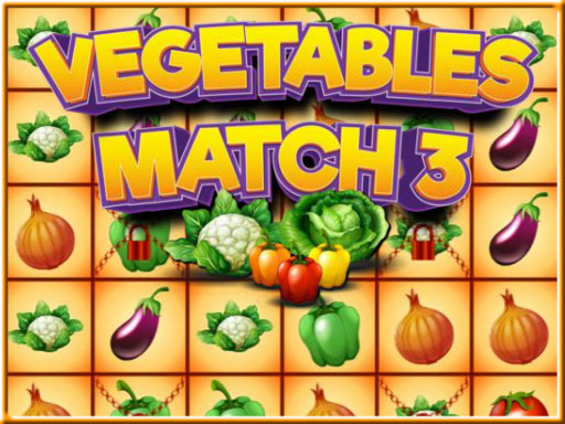 Thumbnail of Vegetables Match 3