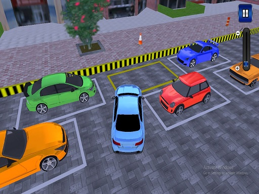 Garage Car parking Simulator Game thumbnail