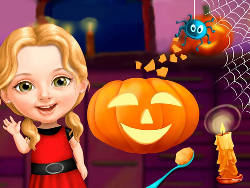 Sweet Baby Girl Halloween Fun thumbnail