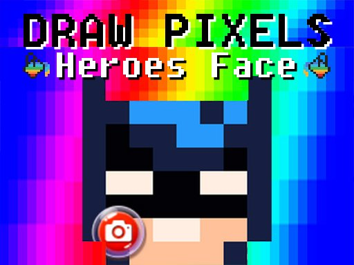 Thumbnail of Draw Pixels Heroes Face