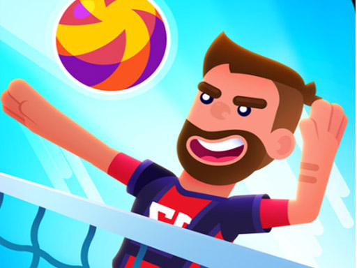Thumbnail of Monster head soccer volleyball Game