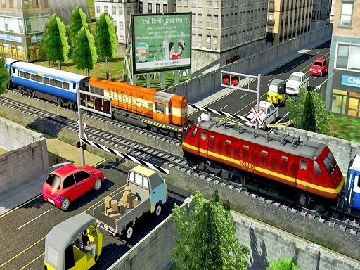 Modern Train Driving Simulator: City Train Games thumbnail
