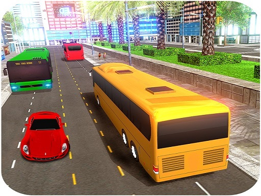 City Coach Bus Simulator Game thumbnail