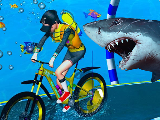 Under Water Bicycle Racing thumbnail