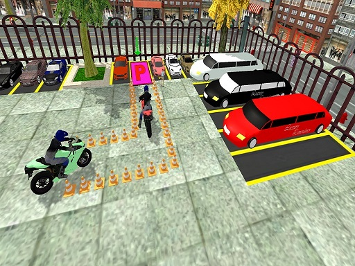 Advance Bike Parking Game thumbnail