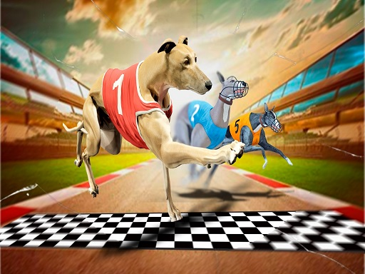 Thumbnail for Crazy Dog Racing Game 2020