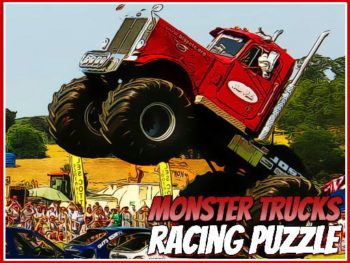 Monster Trucks Racing Puzzle thumbnail