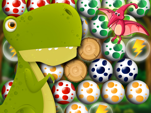 Egg Shooter Bubble Dinosaur thumbnail