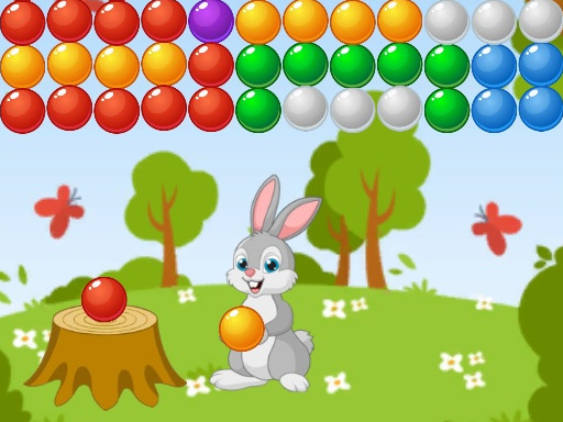 Thumbnail of Bubble Shooter Bunny