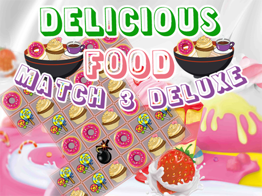 Thumbnail of Delicious Food Match 3 Deluxe