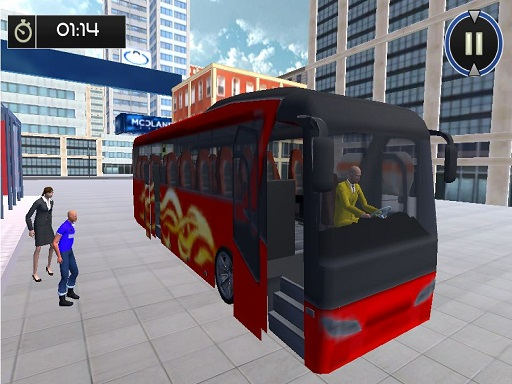City Bus & Off Road Bus Driver Game thumbnail
