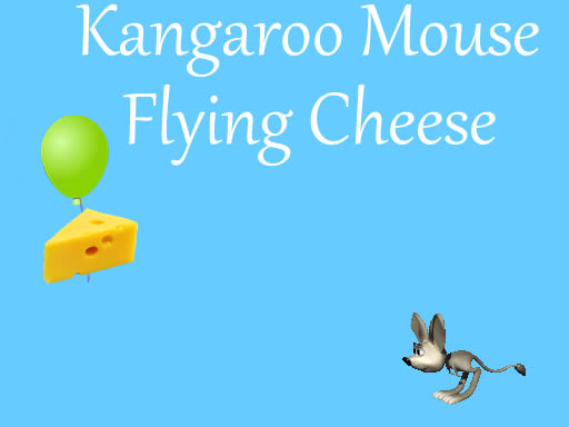 Thumbnail of Kangaroo Mouse Flying Cheese
