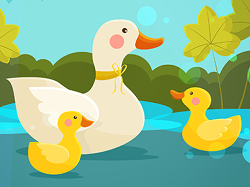 Mother Duck and Ducklings Jigsaw thumbnail