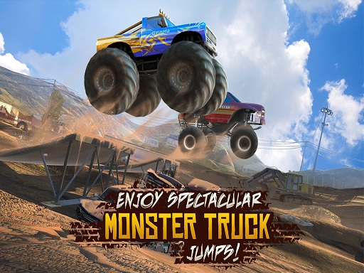Thumbnail for Xtreme 3D Spectacular Monster Truck Offroad Jump