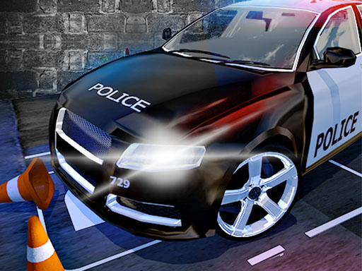 Police Car Parking Mania Car Driving Games thumbnail