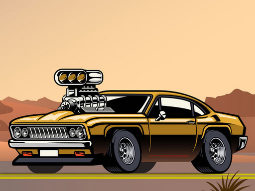 Thumbnail for Crazy Big American Cars Memory