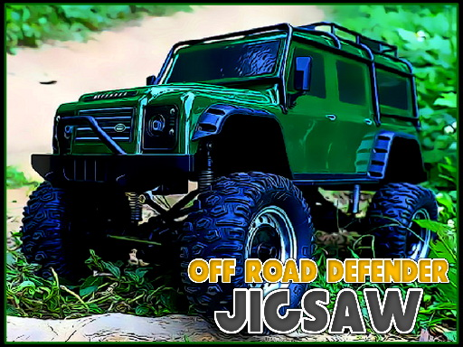 Off Road Defender Jigsaw thumbnail