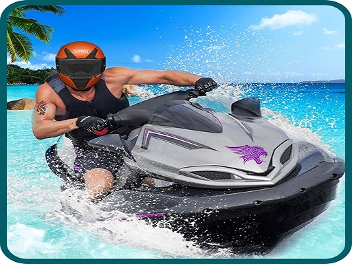 JetSky Power Boat Stunts Water Racing Game thumbnail