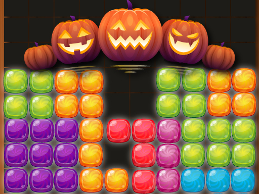 Thumbnail of Candy Puzzle Blocks Halloween