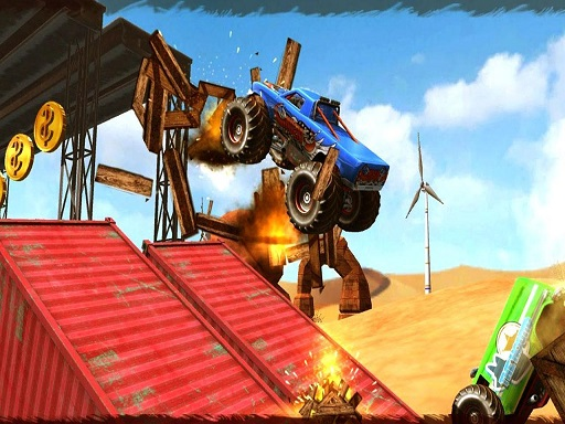 Thumbnail of Monster Truck Impossible Track Plane Simulator