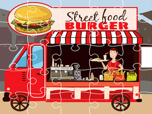 Burger Trucks Jigsaw thumbnail