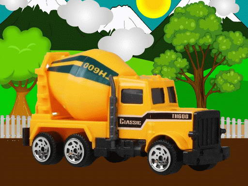 Thumbnail of Construction Vehicles Jigsaw