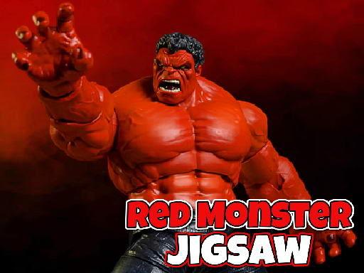 Red Monster Jigsaw thumbnail