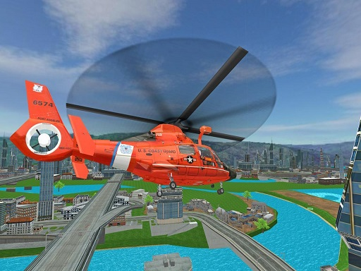 911 Rescue Helicopter Simulation 2020 thumbnail