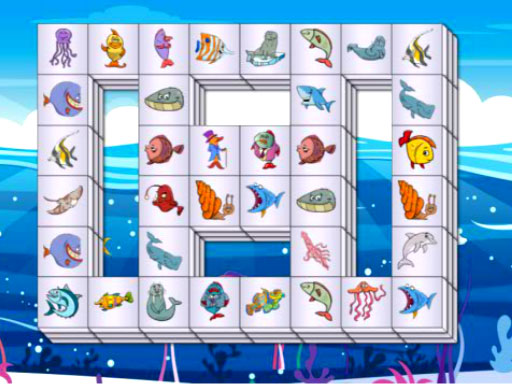 Thumbnail of Sea Life Mahjong