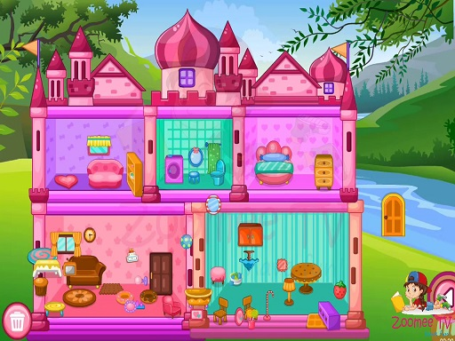 Princess Baby Doll House Cleanup Game thumbnail