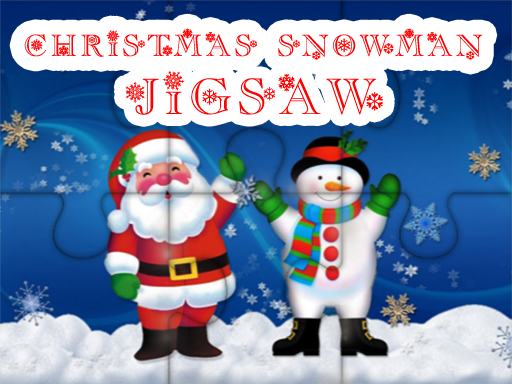 Thumbnail of Christmas Snowman Jigsaw Puzzle