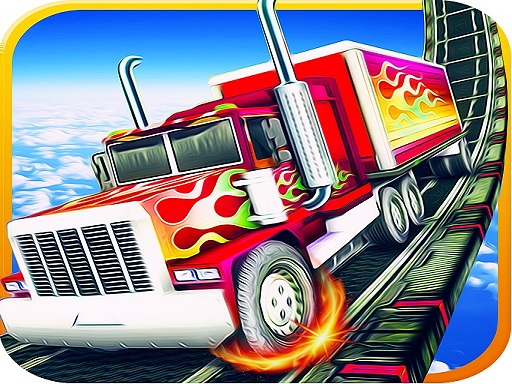 Impossible Tracks Truck Parking Game thumbnail